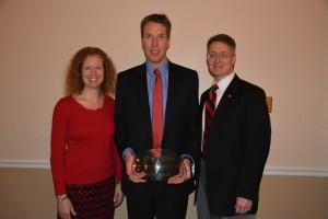Kristie Willett, Jeffrey Steevens and Dean David D. Allen