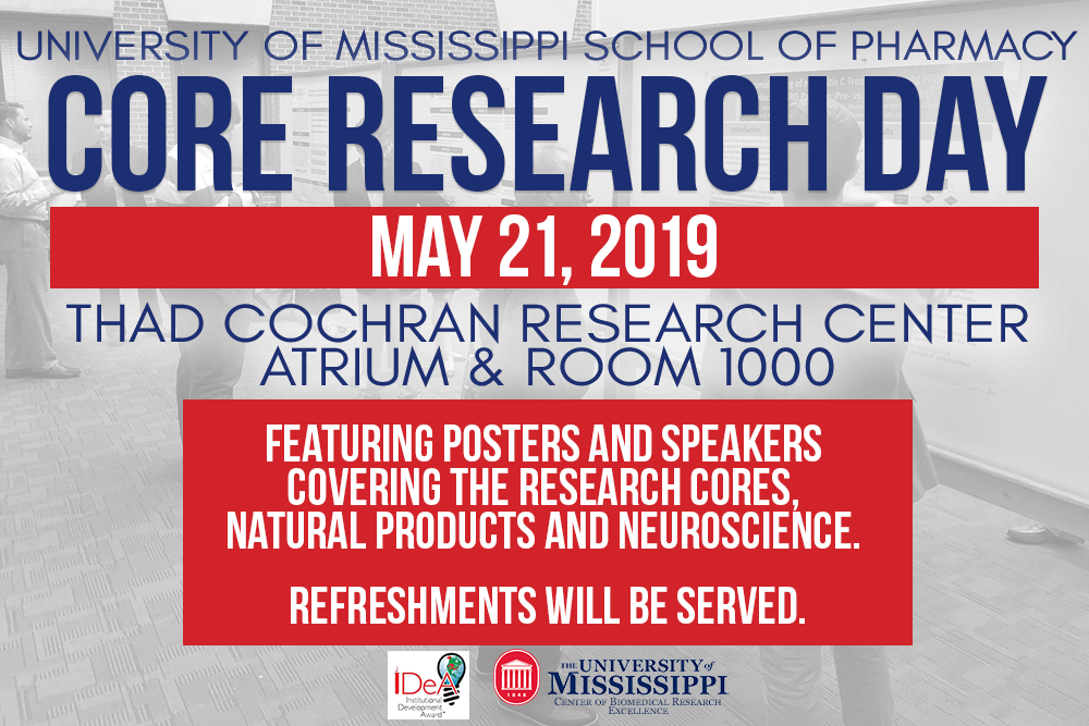Core Research Day Graphic