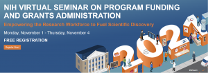 Registration Graphic NIH Program Funding Seminar