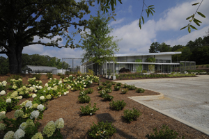 The Maynard W. Quimby Medicinal Plant Garden's new facility is to be dedicated April 17.