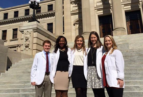UMAC members attended Pharmacist Day at the Capitol earlier this year.