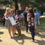 University of Mississippi School of Pharmacy faculty and staff watched the total eclipse on campus.
