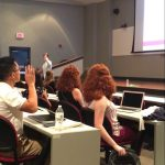 David Gregory welcomes first-year pharmacy students to the University of Mississippi School of Pharmacy