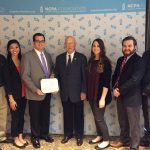 NCPA Student Chapter accepts award