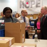 HHS Sec Price Visit Dispensary of Hope