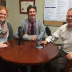 Laurie Fleming, Joshua Fleming and Stuart Haines helped to create the PharmacyForward podcast.