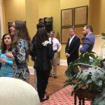 Chancellor at Board of Visitors Reception