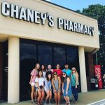 Summer College participants at Chaney's
