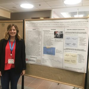 Ann Fairly Barnett at the SETAC Young Environmental Scientists meeting in March of 2018.