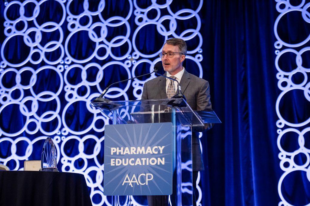 David Allen at AACP Podium