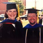 Alicia Bouldin and John Bentley Graduation