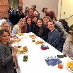 Early Entry students celebrating Thanksgiving