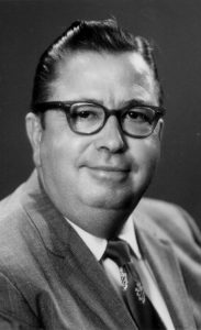 Black and white picture of Charles Hartman