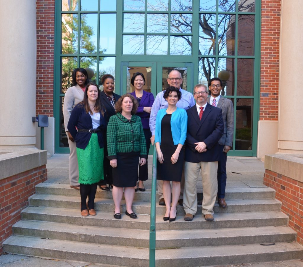 University of Mississippi Pharmacy Administration faculty and staff