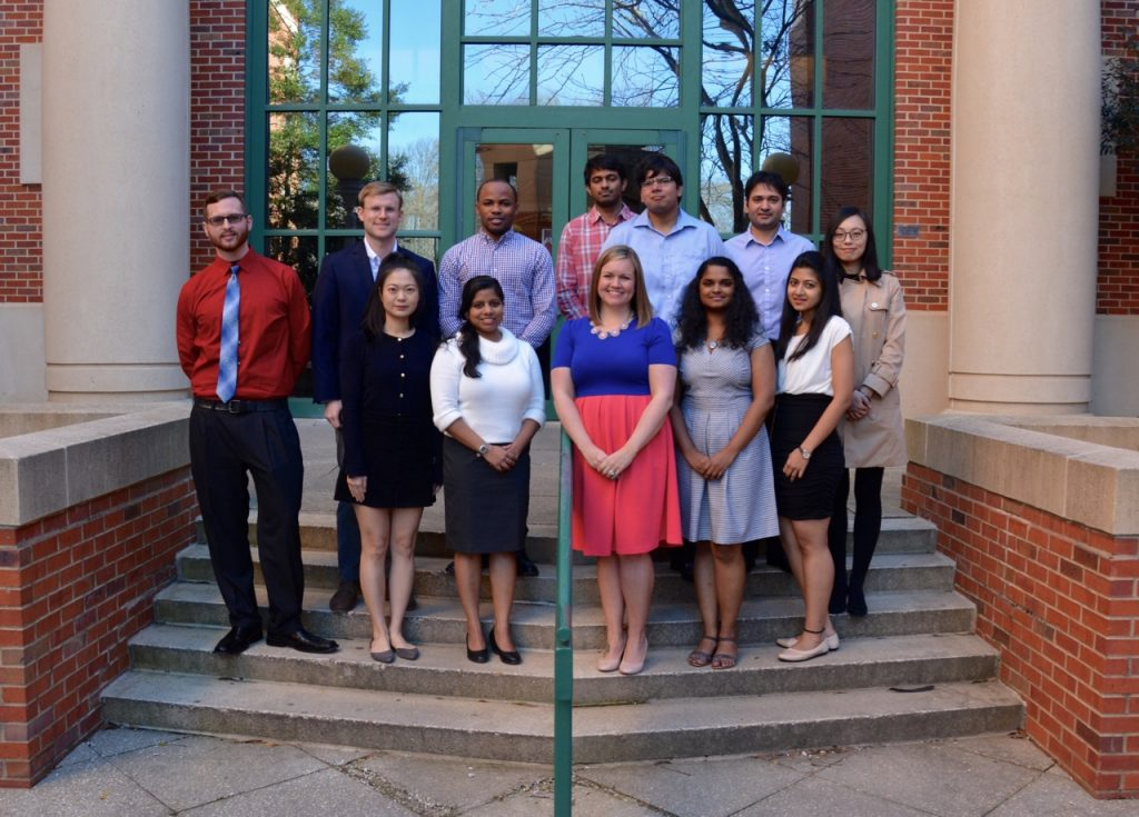 University of Mississippi Pharmacy Administration graduate students
