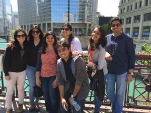 Manasi Suryavanshi in Chicago on internship 2015