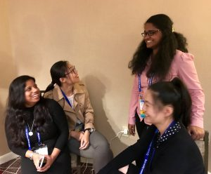 Past and present members of the pharmacy administration department met at the Ole Miss reunion at the 2017 ISPOR meeting in Boston.