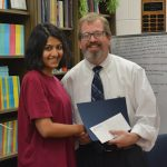 Manasi Suryavanshi, pharmacy administration graduate student at the University of Mississippi