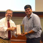 Kaustuv Bhattacharya won the Medical Marketing Economics Endowed Fellowship in Pharmacy Administration