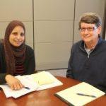 Eman Ashour and Walt Chambliss