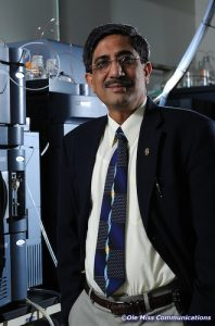 Ikhlas Khan, director of the NCNPR at the University of Mississippi School of Pharmacy
