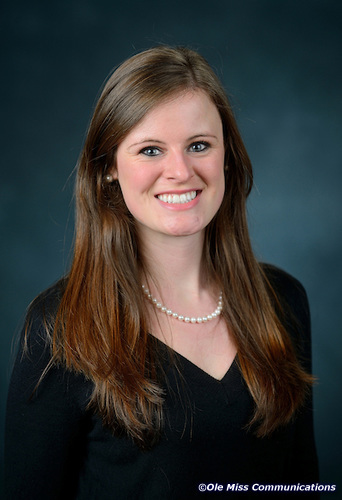Alix Cawthon, student at the University of Mississippi School of Pharmacy