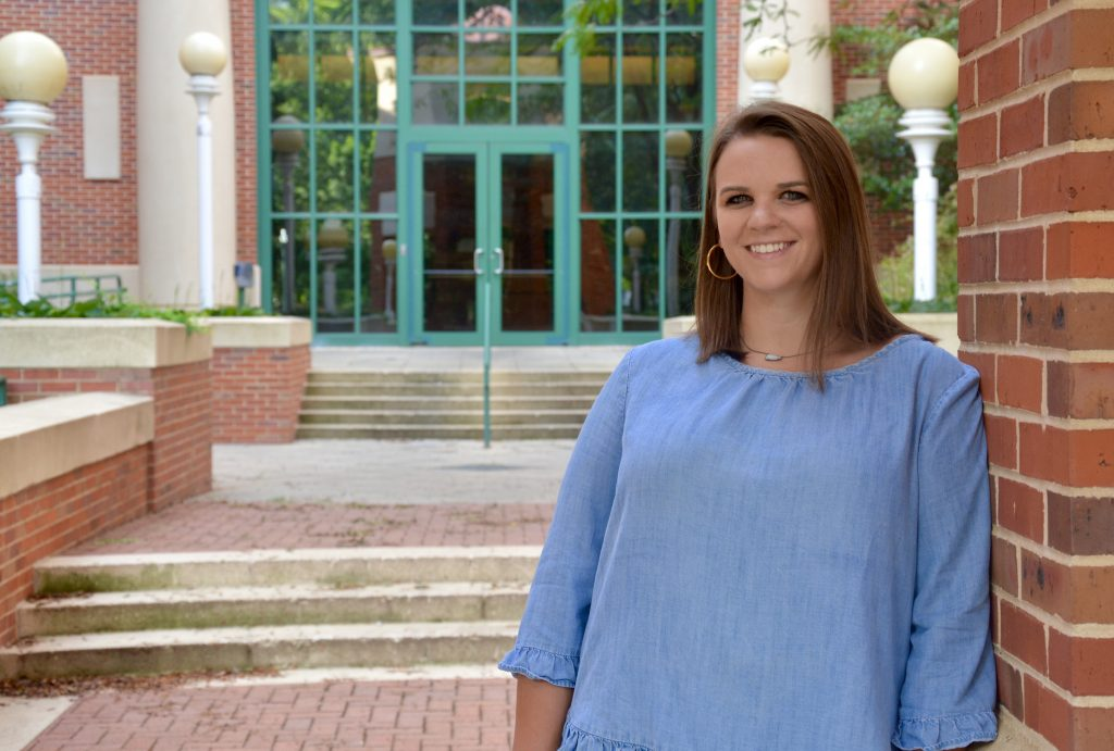 University of Mississippi School of Pharmacy admission counselor Meredith Pyle