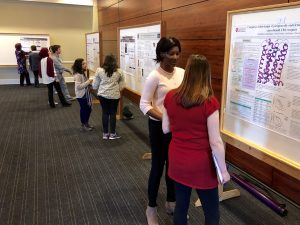 Grad School Research Symposium poster session