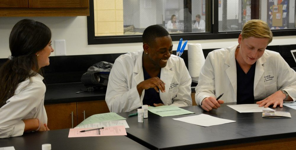 Students in Skills Lab