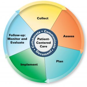 Pharmacists' Patient Care Process Whell