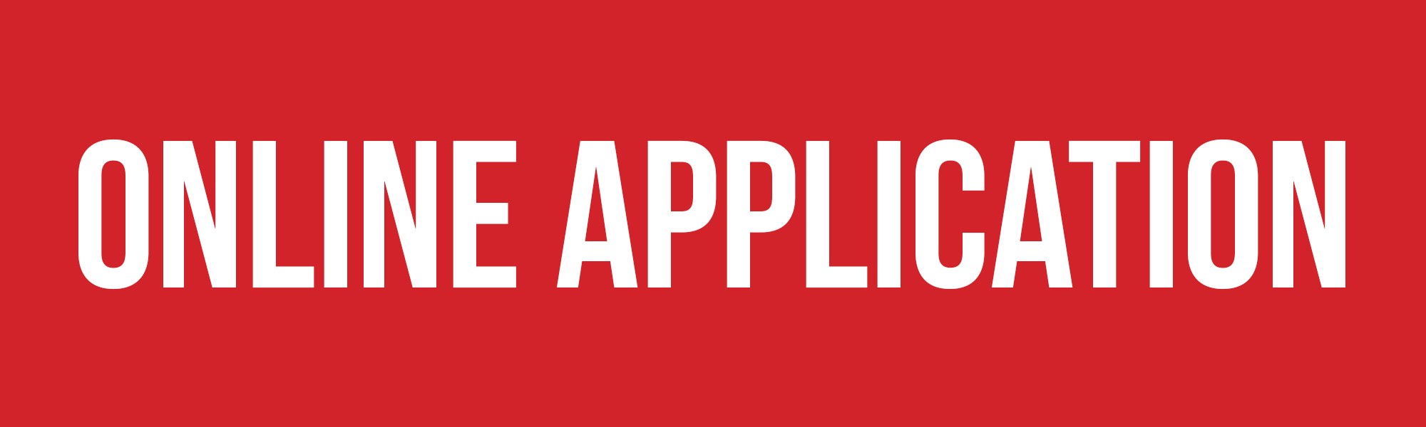 "Red background with ""Online Application"""